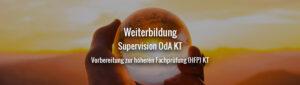 Weiterbildung Supervision OdA KT